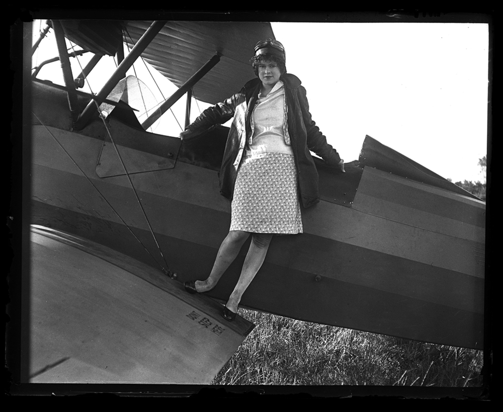 "Elizabeth Skadden was 18 years old and wanted to become an endurance flyer when she was featured in the Illinois State Journal on October 6, 1929. Her dreams may have been inspired by Charles Lindbergh, who just two years earlier made his famous non-stop flight across the Atlantic. She took flying lessons in the hopes of becoming famous herself. ""Just as soon as my chance comes, I hope to set a new endurance record for women flyers which will stand for a long, long time,"" she told the Journal. File/The State Journal-Register."