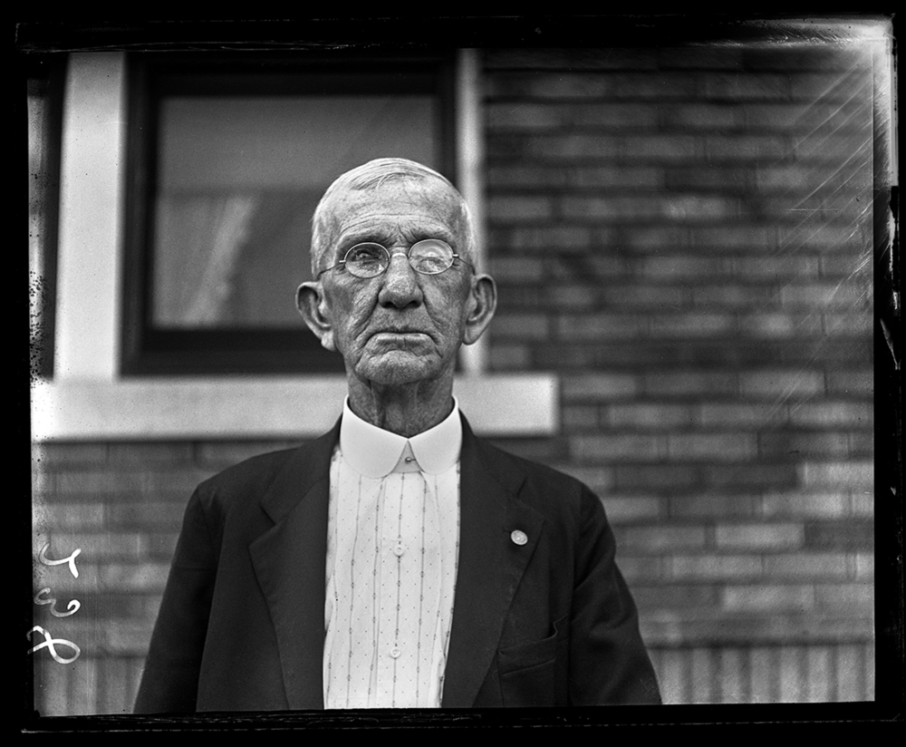 Civil War veteran Lee Graham recognized on his 84th birthday, July 21, 1929. File/The State Journal-Register