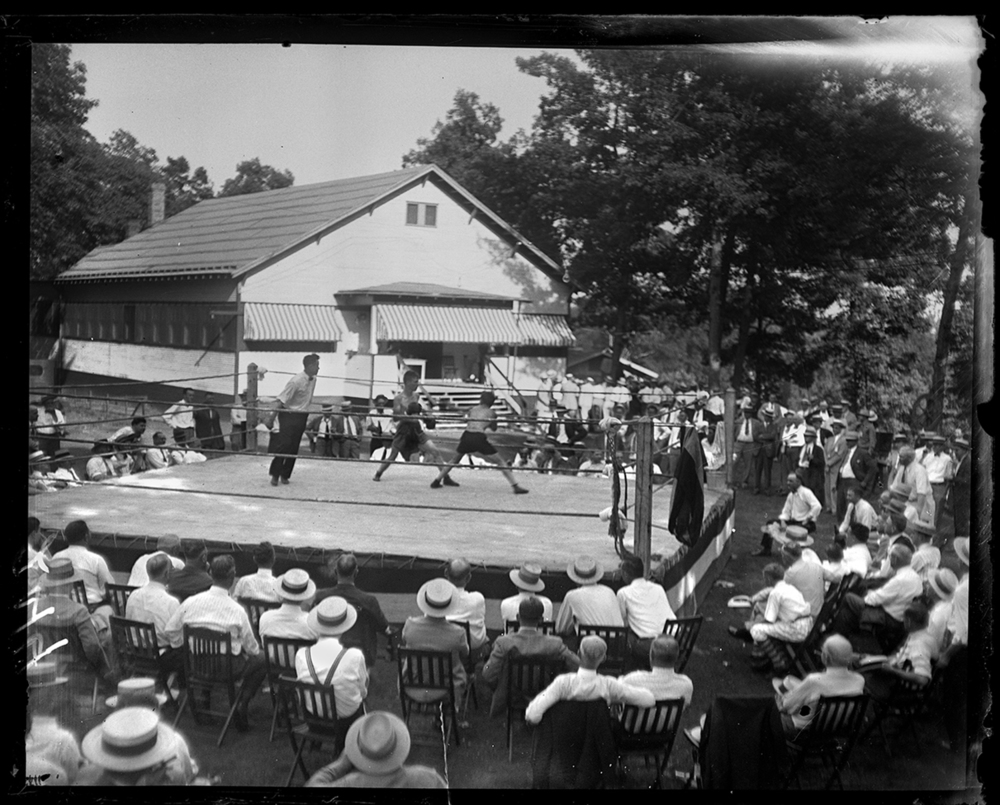 Elks Club picnic and outdoor boxing match, July 16, 1929. File/The State Journal-Register