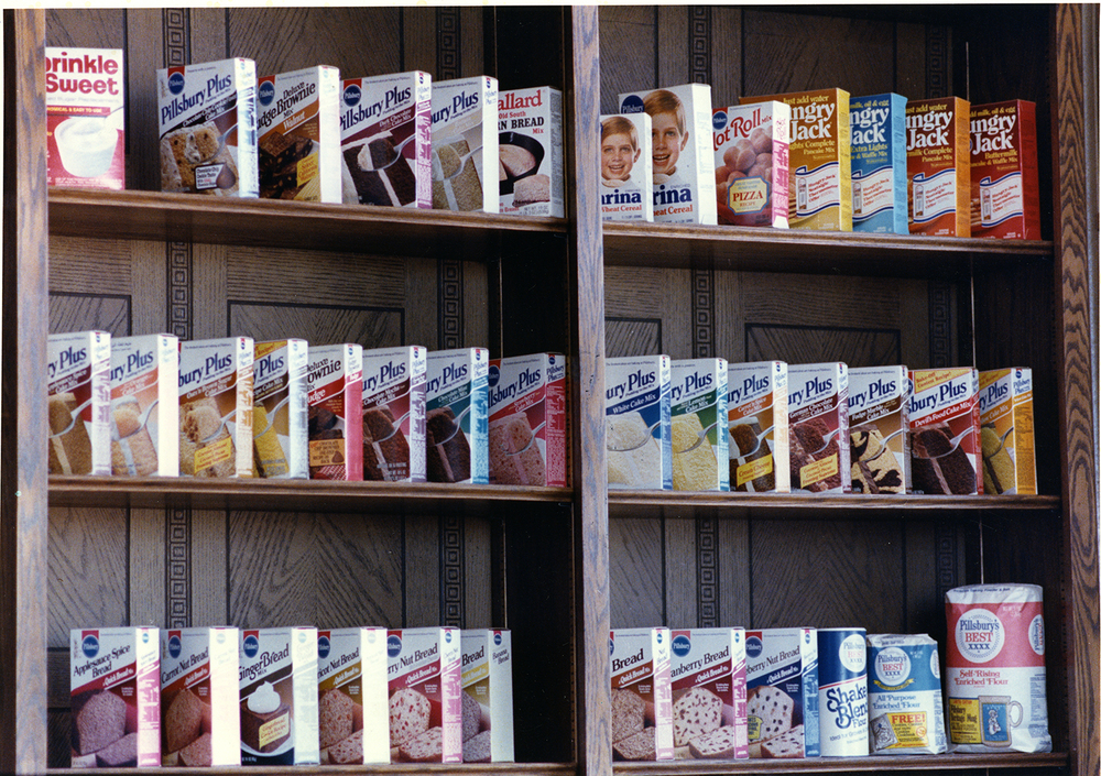 Pillsbury Mills, Feb. 1, 1989. A display of the products produced at the Springfield facility. File/The State Journal-Register