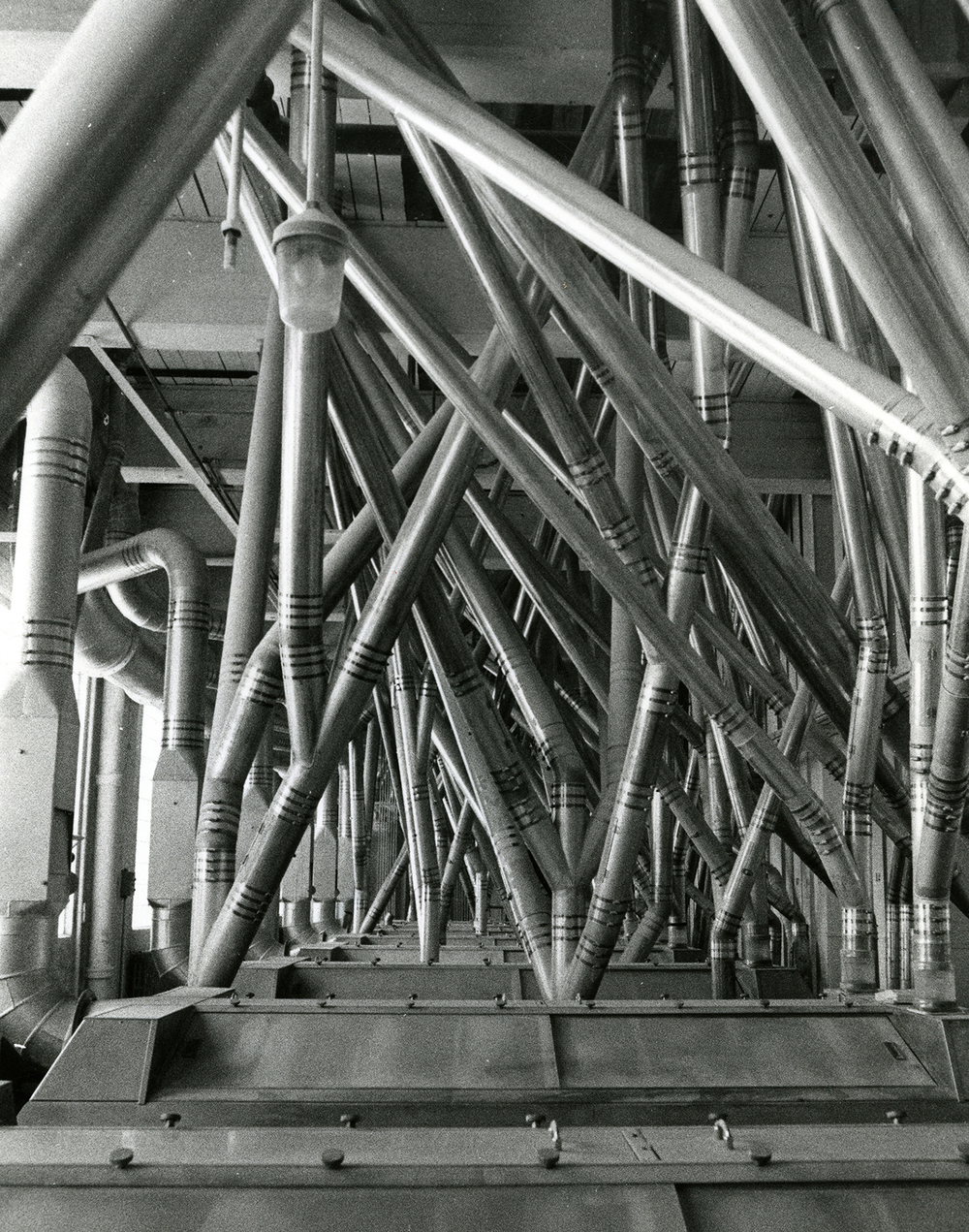 Pillsbury Mills, June 19, 1979. Flour moves from floor to floor through pneumatic tubes. File/The State Journal-Register