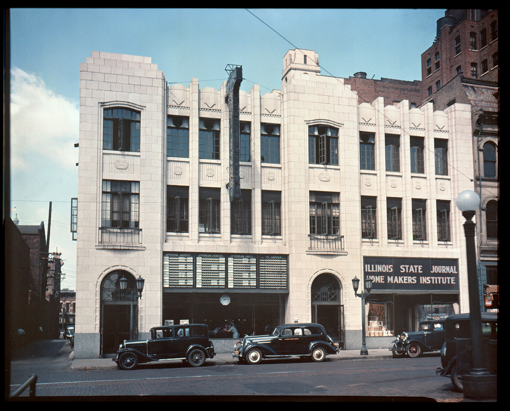 Illinois State Journal, 313 S. Sixth St., 1930s.