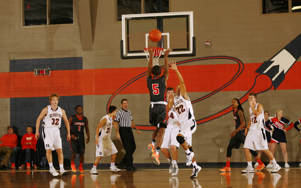 Lanphier's Xavier Bishop went six for 15 from behind the arc against Rochester at Rochester High School Saturday, Dec. 20, 2014. Ted Schurter/The State Journal-Register