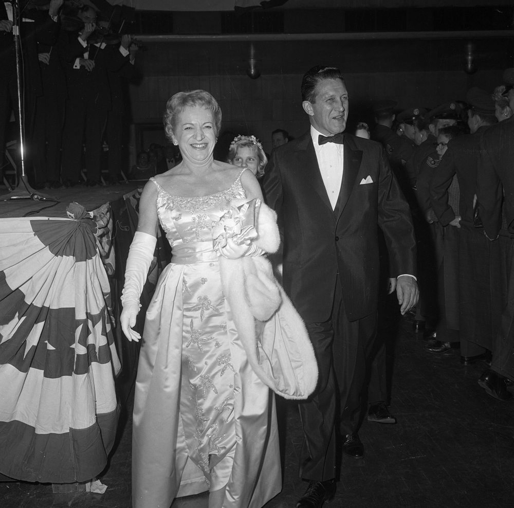 Gov. Otto and Mrs. Kerner at inaugural ball Jan. 9, 1969 at the Illinois State Armory. File/The State Journal-Register
