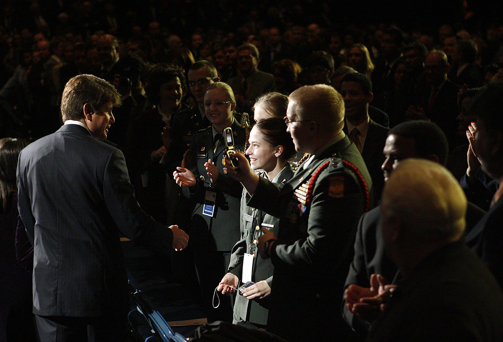 Rod Blagojevich inauguration Jan. 13, 2003 at the Prairie Capital Convention Center. File/The State Journal-Register