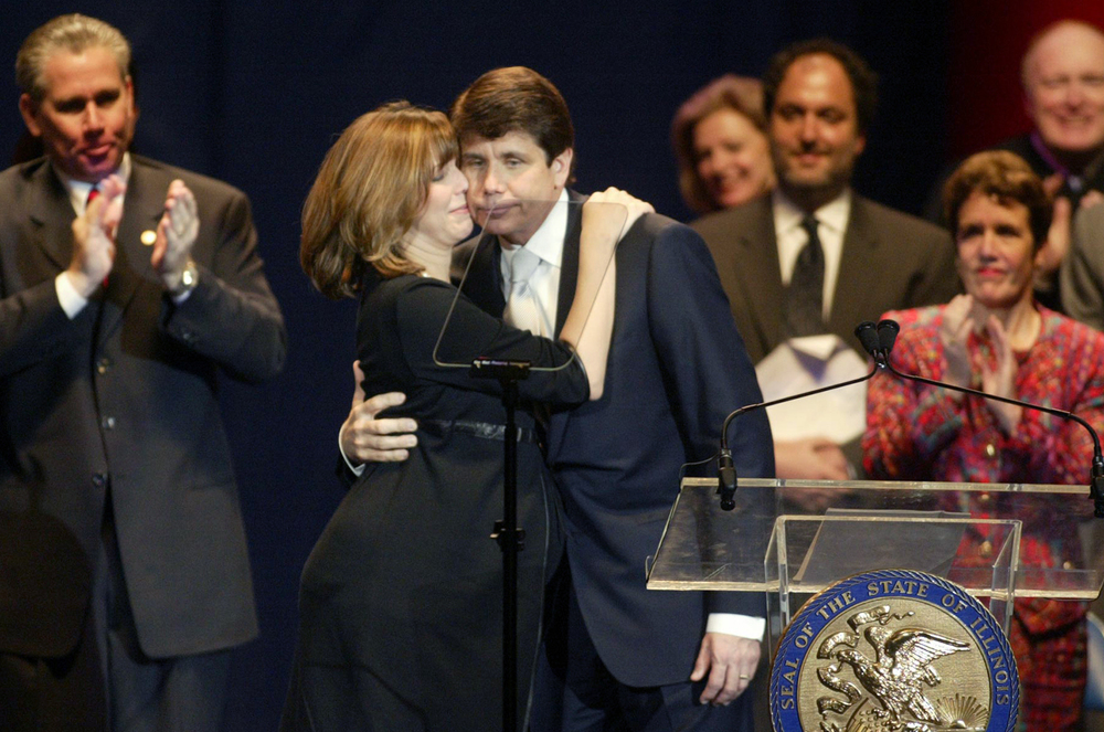 Rod Blagojevich inauguration Jan. 13, 2003. File/The State Journal-Register