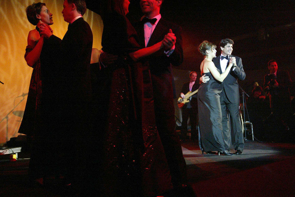 Gov.Rod Blagojevich and his wife Patti dance at the inaugural ball Jan. 13, 2003. File/The State Journal-Register