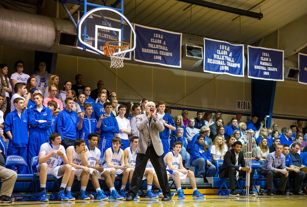 Lutheran vs. Calvary boys basketball Jan. 16, 2015 — The ...
