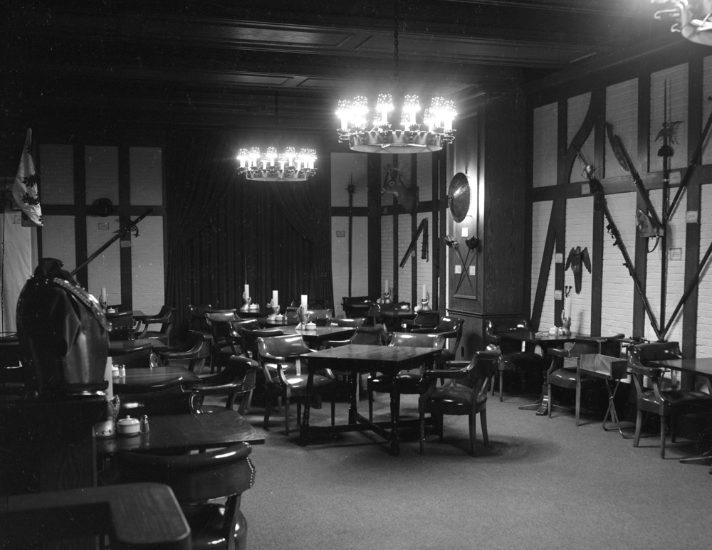 The dining room of the Red Lion when it opened Feb. 10, 1956. File/The State Journal-Register