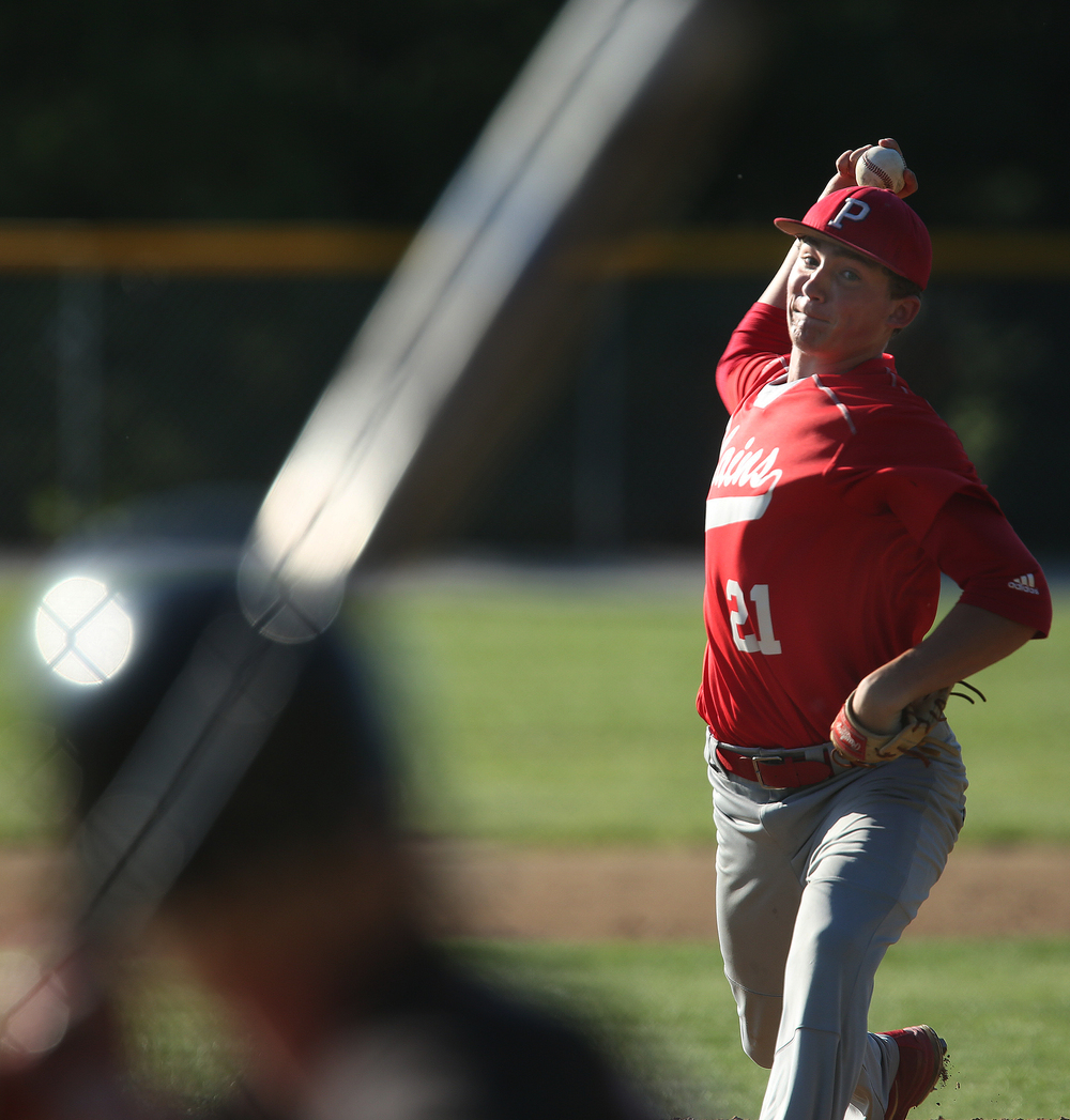 Plains pitcher Chad Weller finished the game off for the Cardinals. David Spencer/The State Journal-Register