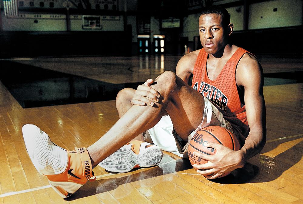 Lanphier High School's Andre Iguodala Nov. 21, 2001. File/The State Journal-Register