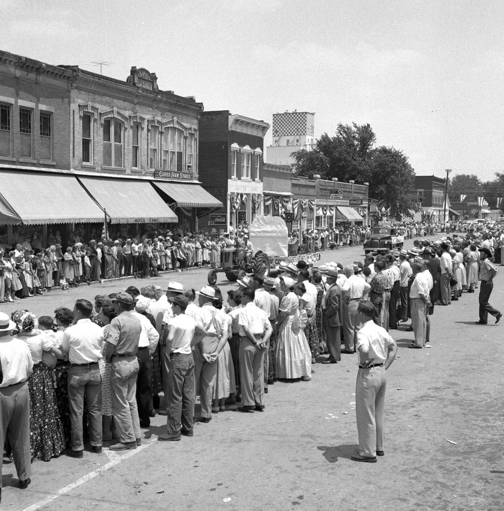 The Girard Centennial Pioneer Days celebration and parade June 17, 1955 in Girard, Ill. File/TheState Journal-Register