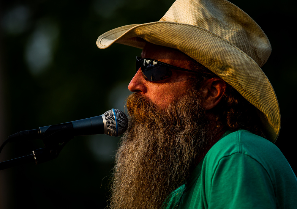 Greg Patterson performs as lead vocals and rhythm guitar for the Wolf Crick Boys during the Riverton Fire Crackin' Festival at the Knights of Columbus Marian Council 3914, Friday, July 3, 2015, in Riverton, Ill. Justin L. Fowler/The State Journal-Register