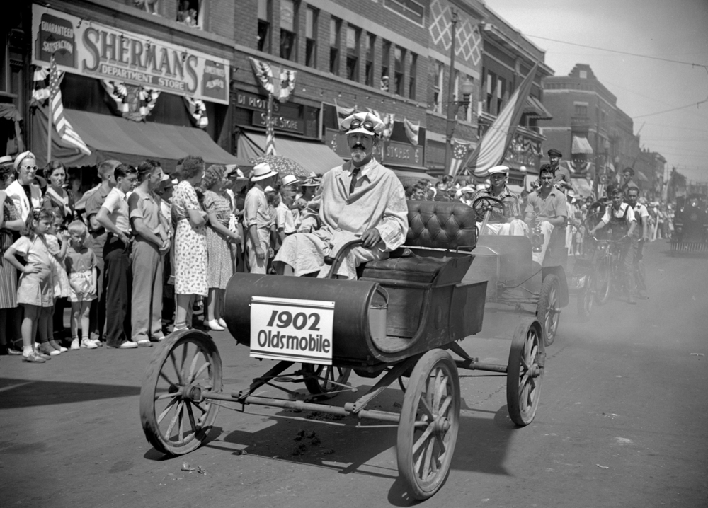 The Taylorville centennial celebration parade July 25, 1939. File/The State Journal-Register