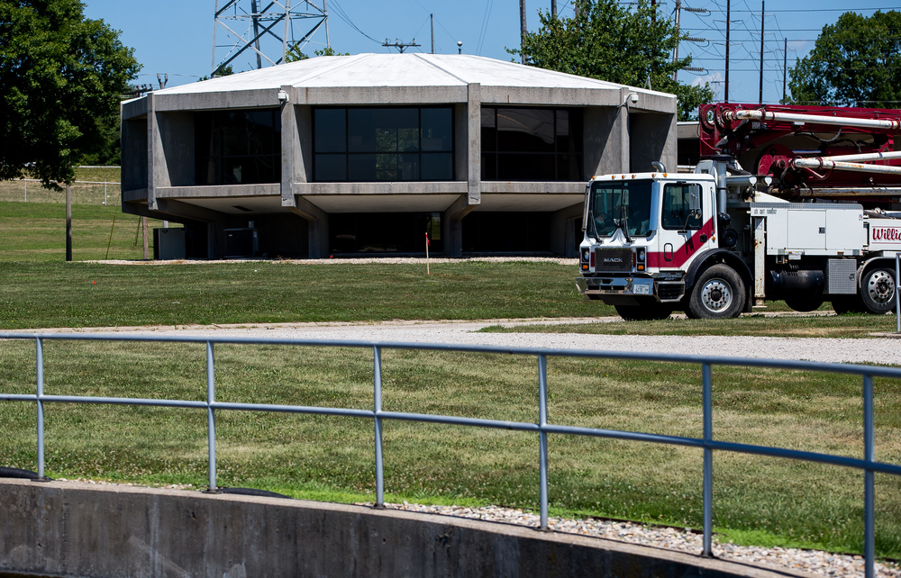 The original Springfield Metro Sanitary District Sugar Creek wastewater treatment plant was built in 1973 and currently serves Rochester, Southern View, and the southeastern portion of Springfield. Justin L. Fowler/The State Journal-Register