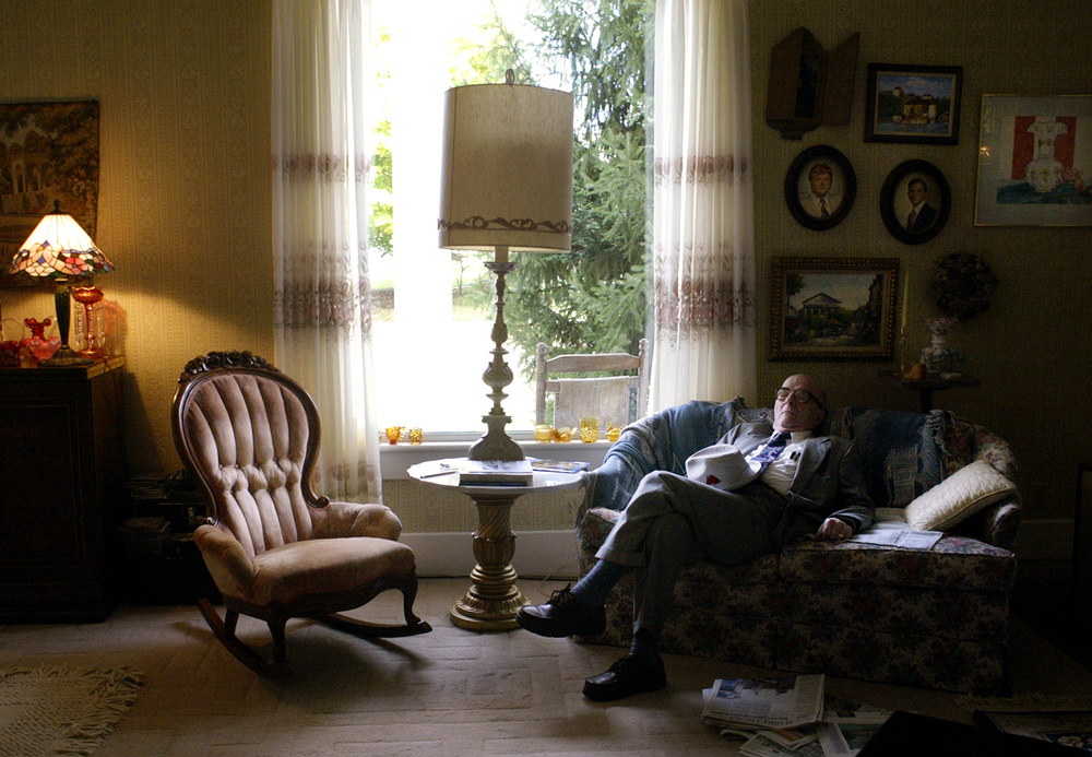 Dohner rests his eyes at his best friends' Bill and Margie Bartlow's home after seeing patients and going to church one Sunday afternoon. Dohner and the Bartlows have been friends since college and have shared many good times together. Photo by Shannon Kirshner/The State Journal-Register