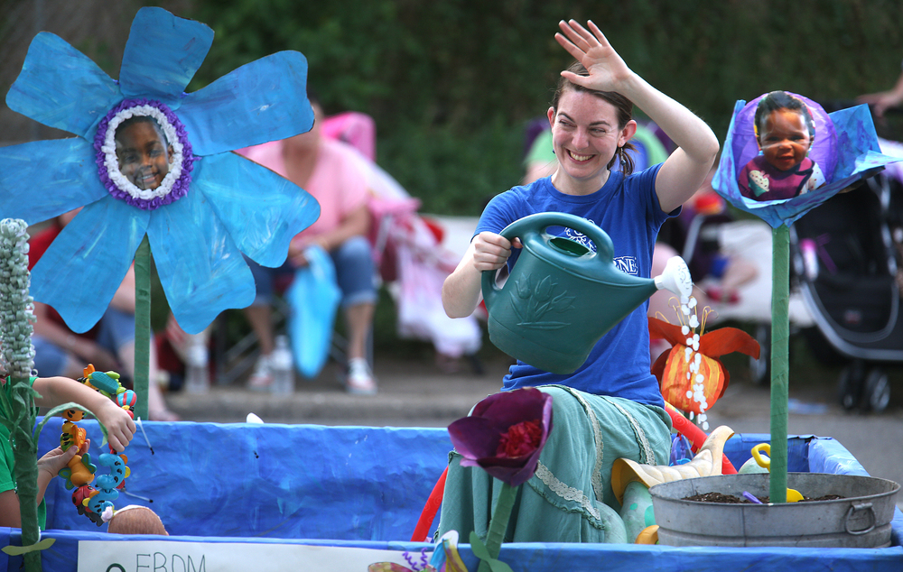 Mini O'Beirne Crisis Nursery had a float in the parade. David Spencer/The State Journal-Register
