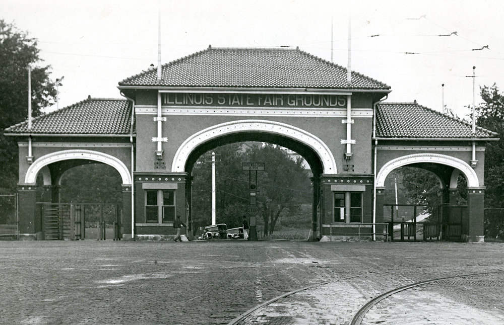 Illinois State Fair main gate, circa 1920s. File/The State Journal-Register