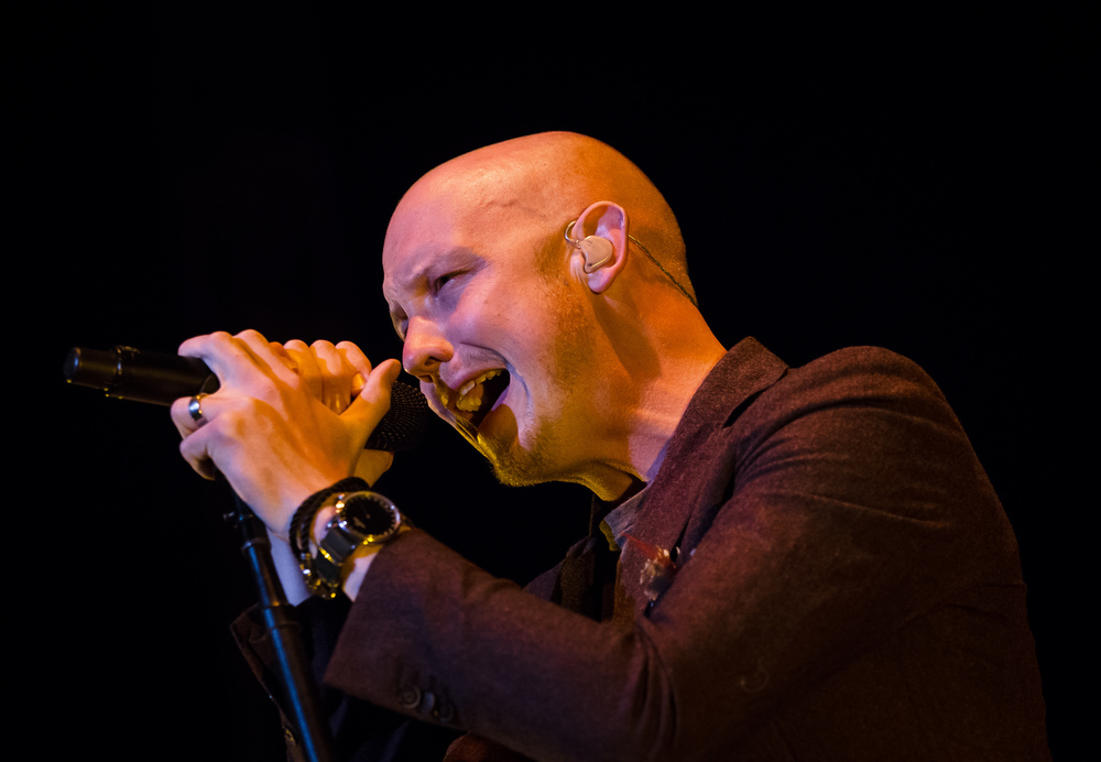 Isaac Slade of The Fray performs with the band during their Grandstand concert at the Illinois State Fairgrounds, Thursday, Aug. 20, 2015, in Springfield, Ill. Justin L. Fowler/The State Journal-Register