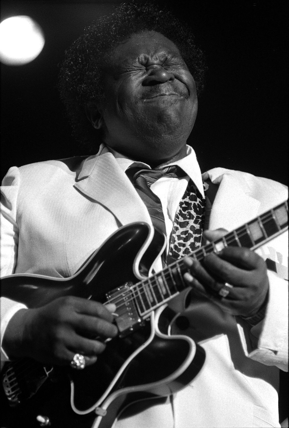 1984: Blues legend B.B. King.