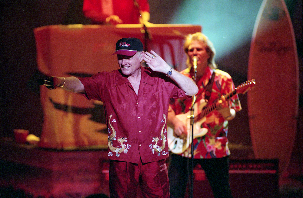 2000: The Beach Boys. The California group has performed 14 times at the Grandstand, more than any other artist.