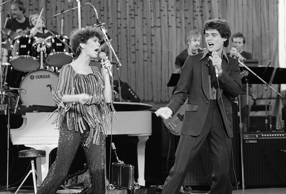 1978: Donnie and Marie Osmond. The Osmond Brothers first performed at the Grandstand in 1964 with Andy Williams. The family appeared four times at the fair.