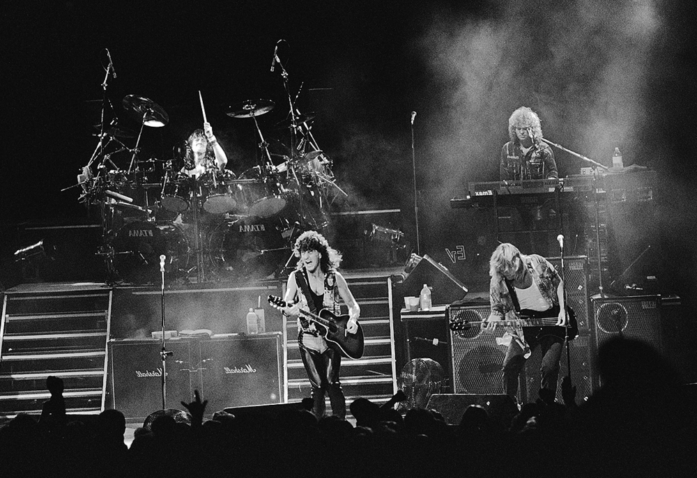 1990: REO Speedwagon. The group with members from Central Illinois has played the Grandstand four times.