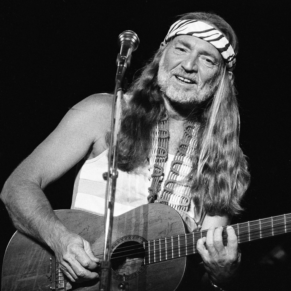 1984: Willie Nelson in concert at the Illinois State Fair Grandstand.