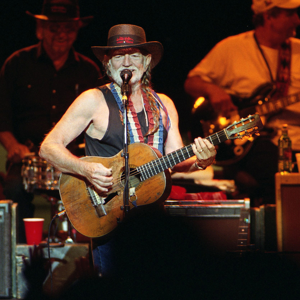 2001: Willie Nelson in concert at the Illinois State Fair Grandstand August 16, 2001.