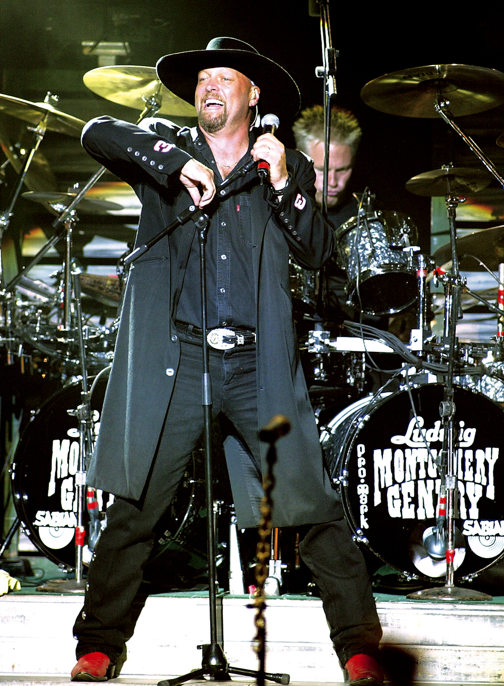 2003: Eddie Montgomery of  the country music duo Montgomery Gentry.