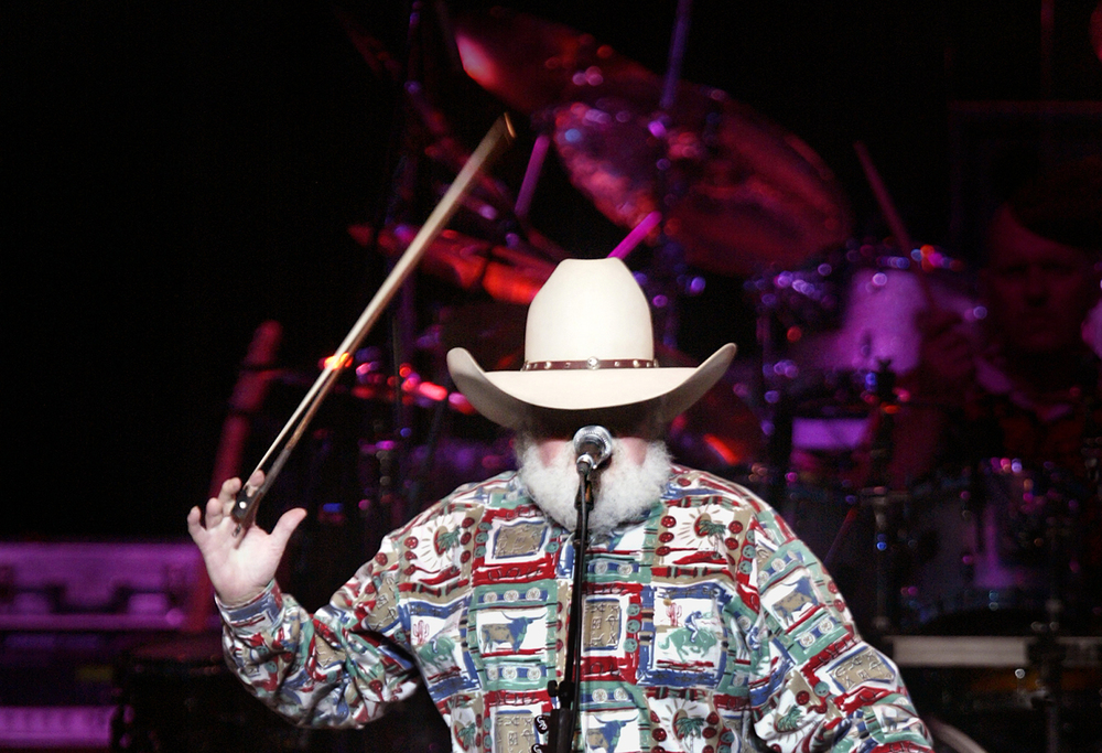 2004: Charlie Daniels. Travis Tritt was the opening act.