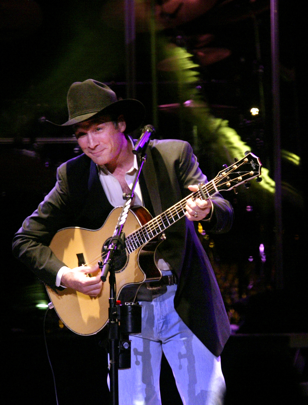 2004: Clint Black, his fourth appearance.
