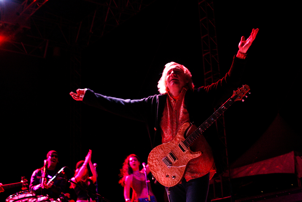 2007: Rock guitarist Joe Walsh.