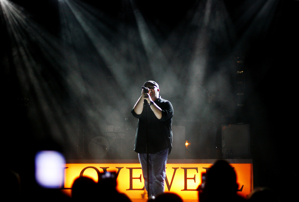 2010: Mercy Me lead singer Bart Millard.