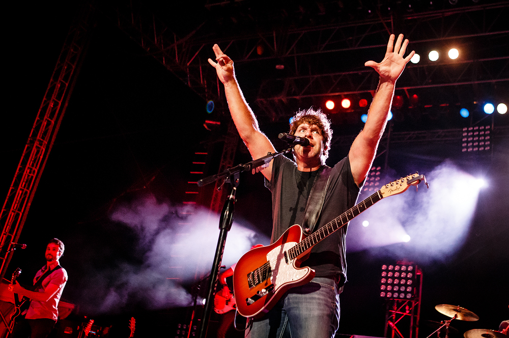 2013: Country music artist Billy Currington.