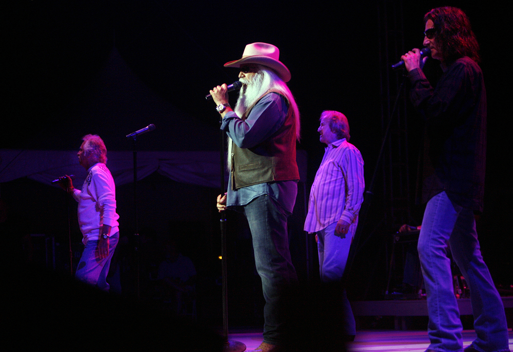 2011: The Oak Ridge Boys. The group also played in 1980.