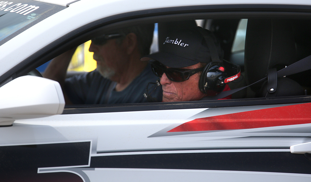 Johnny Parsons, a former USAC and Indy 500 driver and son of 1950 Indianapolis 500 winner Johnnie Parsons, drove the pace car Saturday. David Spencer/The State Journal-Register