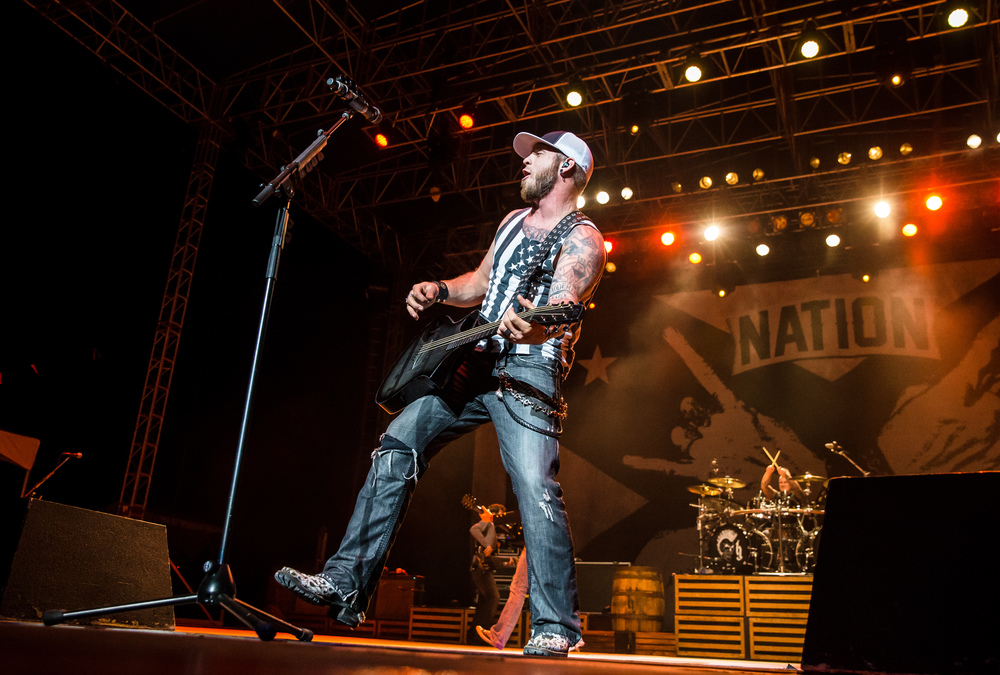 Brantley Gilbert performs on the Grandstand stage at the Illinois State Fair, Sunday, Aug. 23, 2015, in Springfield, Ill. Justin L. Fowler/The State Journal-Register