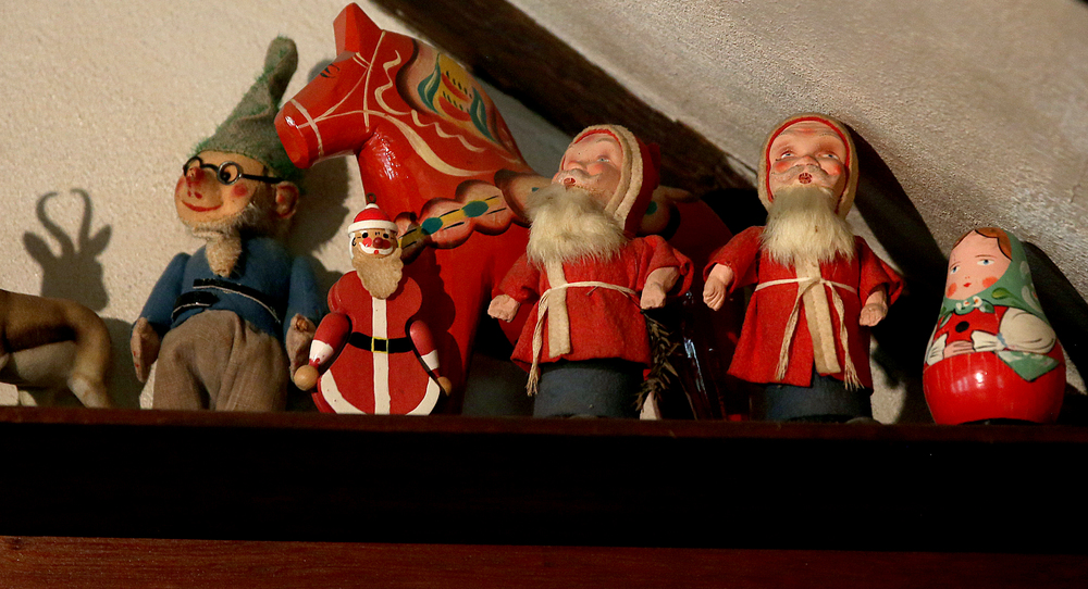 Christmas toys seen in the attic playroom on Tuesday, Sept. 8, 2015 will be auctioned this month. David Spencer/The State Journal-Register