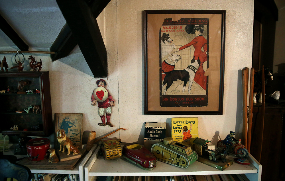 Shown are items to be auctioned seen in the attic playroom on Tuesday, Sept. 8, 2015. David Spencer/The State Journal-Register