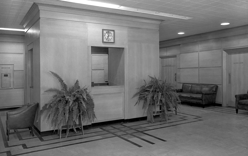 An information booth was located in the main lobby. File/The State Journal-Register