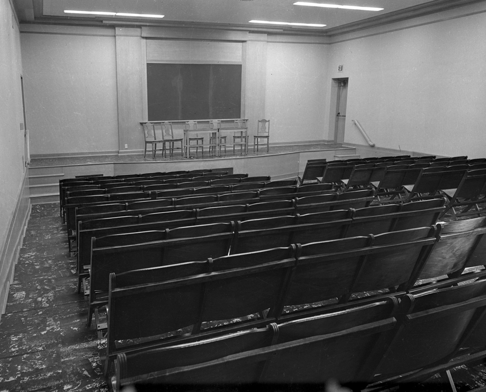 Hospital auditorium. File/The State Journal-Register