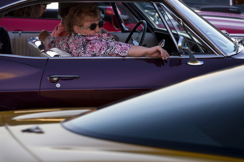 Route 66 Mother Road Festival cruise Friday, Sept. 25, 2015. Rich Saal/The State Journal-Register