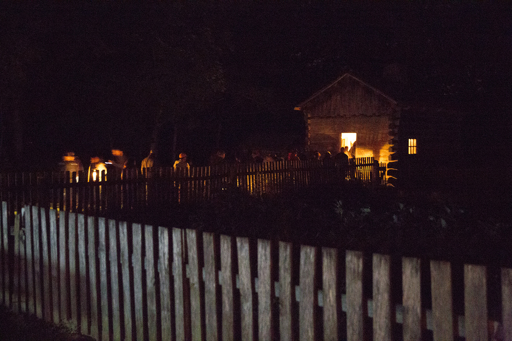 The annual Candlelight Walk at New Salem State Historic Site Friday, Oct. 2, 2015. Rich Saal/The State Journal-Register