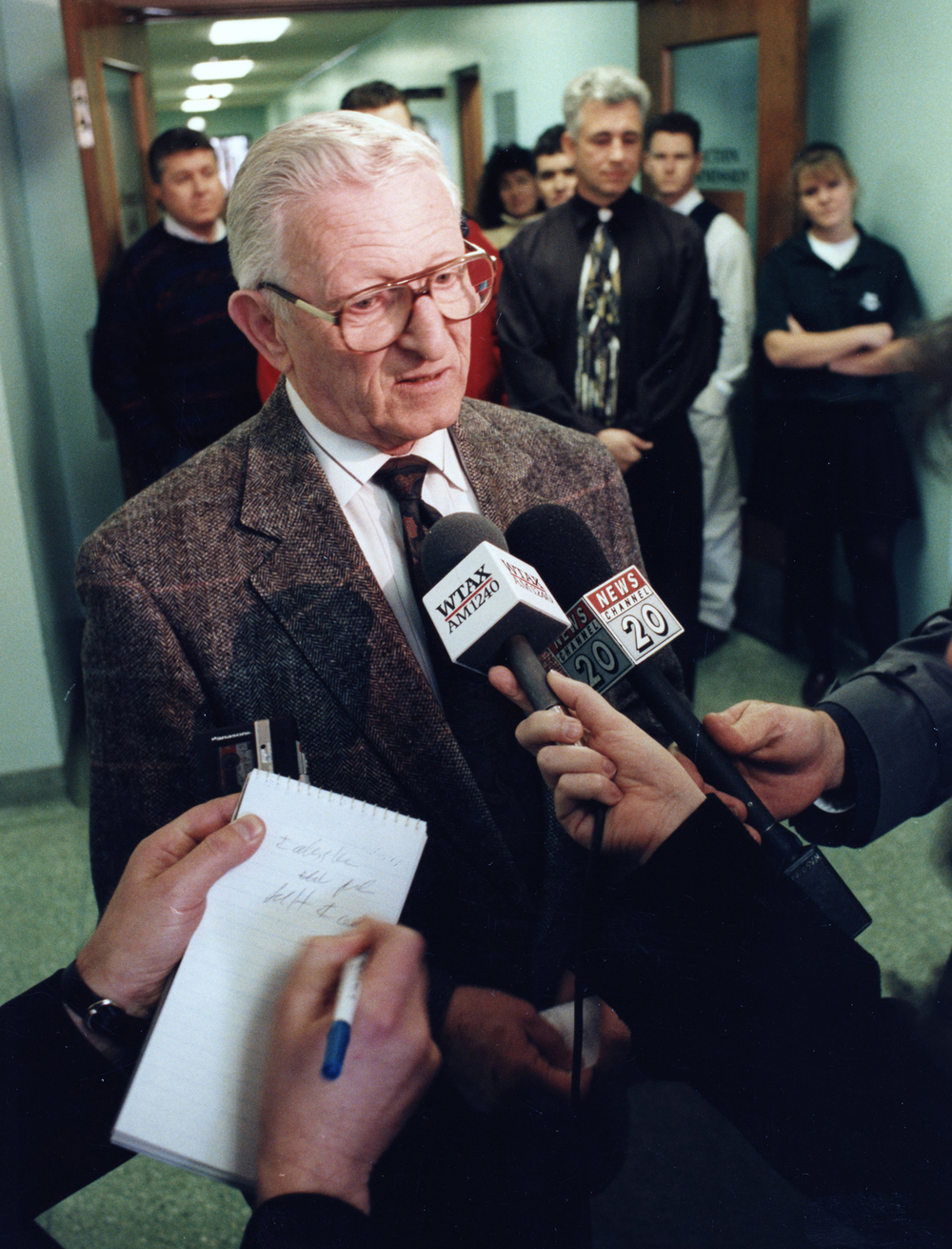 Mayor Ossie Langfelder, Dec. 13, 1994. File/The State Journal-Register