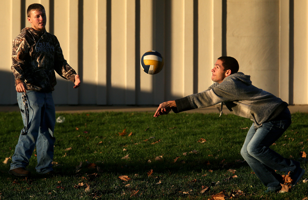 Springfield Southeast High School students Kyle Rutherford at 