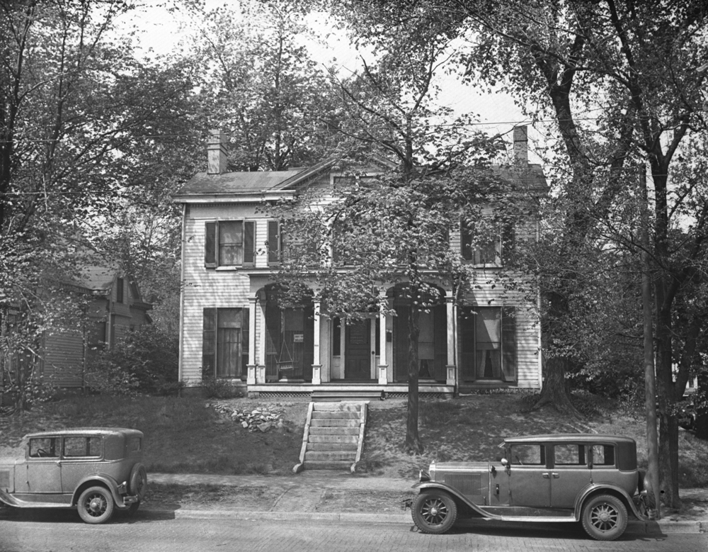 The Vachel Lindsay home at 603 S. Fifth St., circa 1930. File/The State Journal-Register