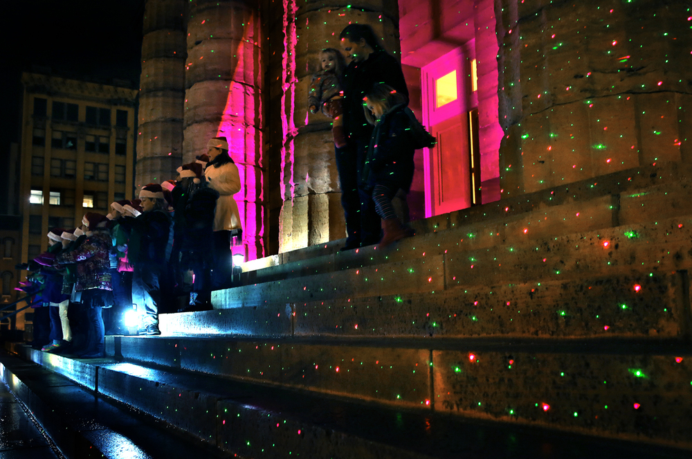 Members of the Springfield Show Stoppers children's choral group 