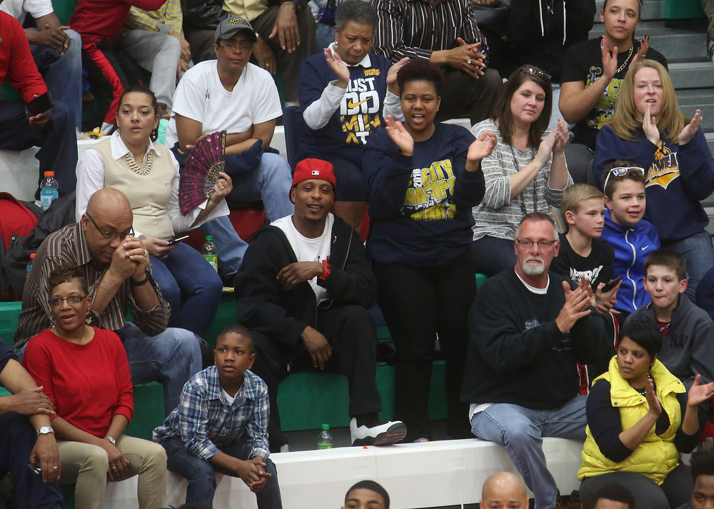 Southeast fans cheers on their team from the stands. David Spencer/The State Journal Register