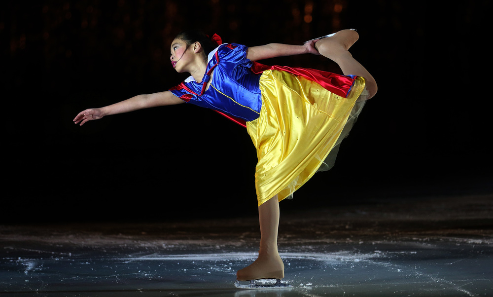 Sasa Lac performed the role of Snow White during Saturday's matinee performance. David Spencer/The State Journal Register